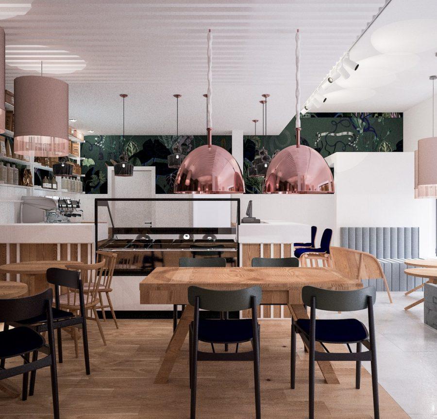 projekt kawiarni by a2 koncept